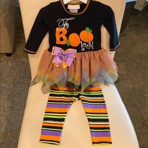 "Halloween ""Fa- Boo- lous"" outfit"
